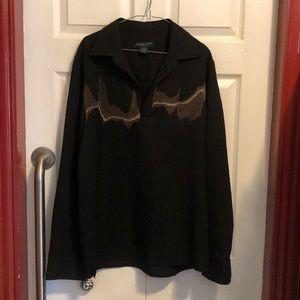 Kenneth Cole Man Shirt (like new) color black
